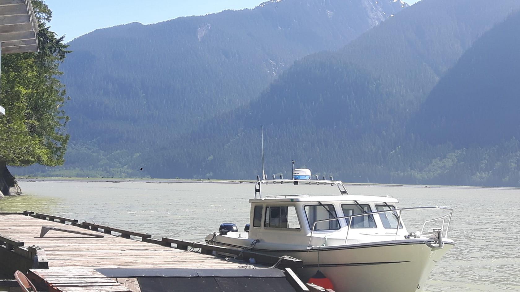 24-foot Sea West boat