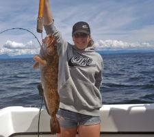 Vancouver IslandLingcod fishing